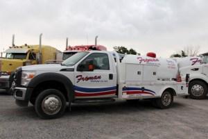 service truck-cylinder