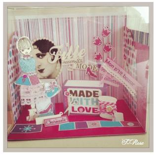 Création d'une Petite Boutique Très Girly By F-Rose