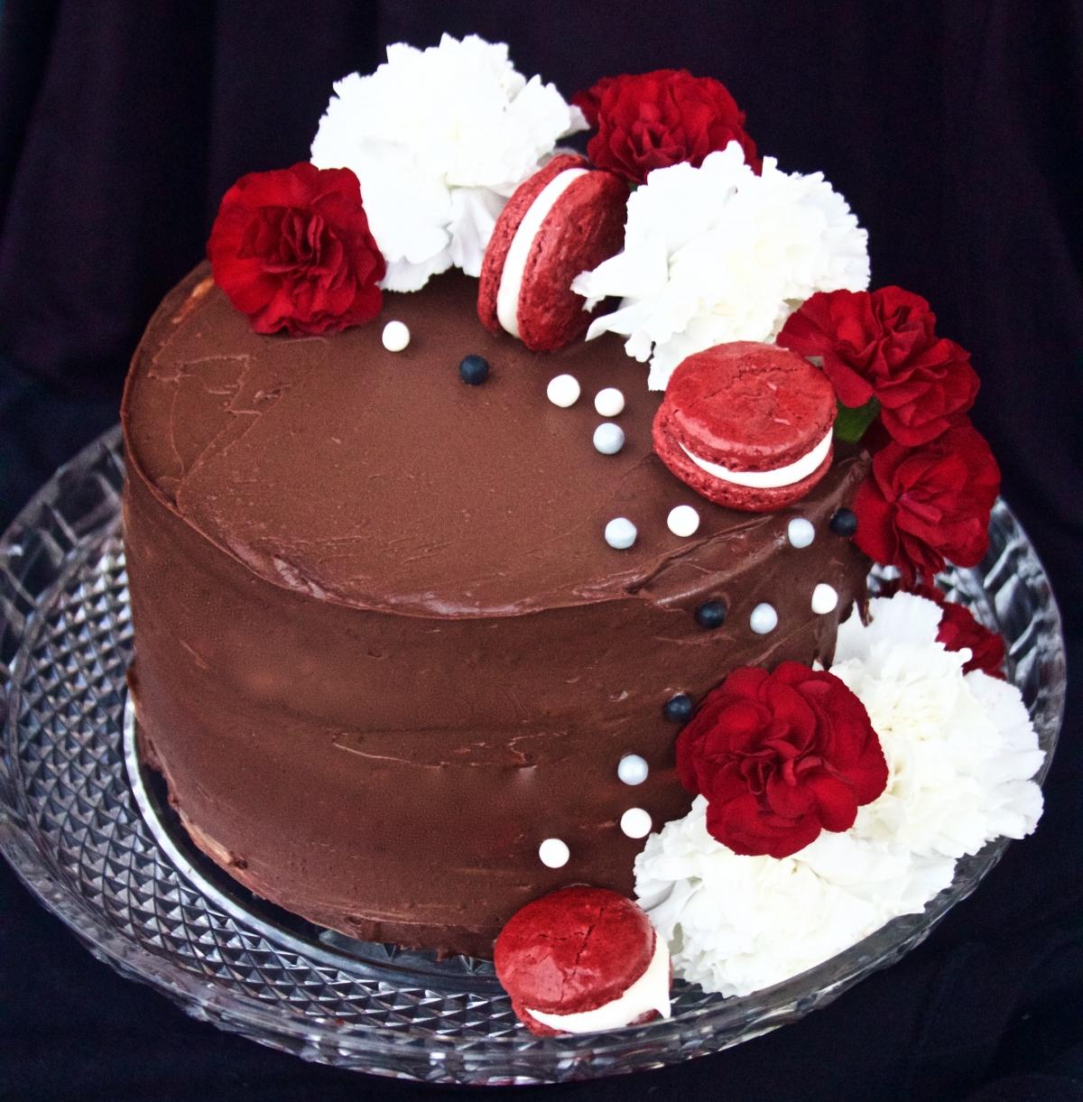 Cake Decorating White Chocolate Ganache