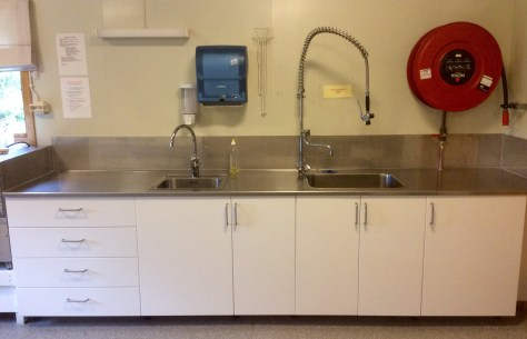 Ny, stor og praktisk kjøkkenbenk på Folkheim!