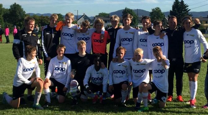 Neset G16 til 8-delsfinale i Norway Cup