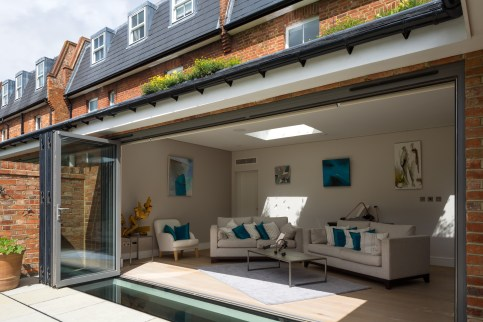 Extension & Basement Rooflight