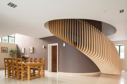 Dining Area & Stair