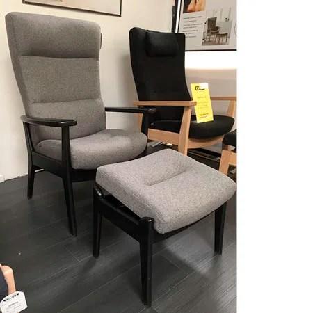 Farstrup stol + skammel DEMO