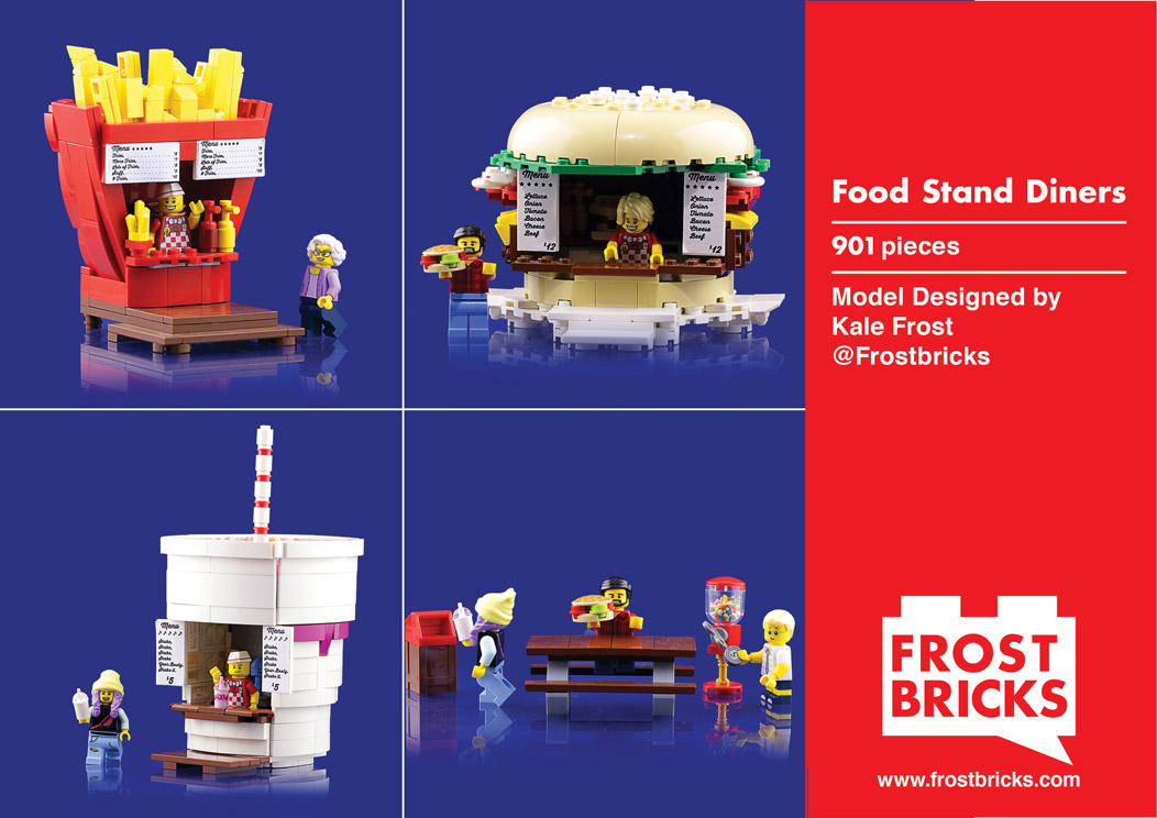 Food Stand Diners Instructions Front Page