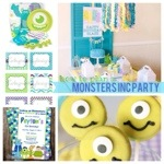 Monsters Inc Kids Birthday Party Ideas & Inspiration www.frostedevents.com Monsters University
