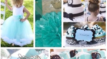 Breakfast at Tiffanys Girls Party Ideas & Inspiration www.frostedevents.com Birthday & Baby Shower