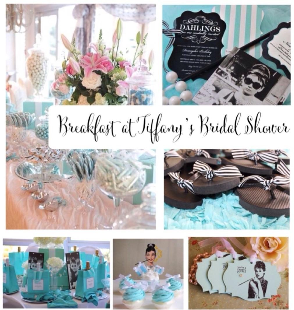 Breakfast at Tiffanys Bridal Shower Ideas and Inspiration Pinterest