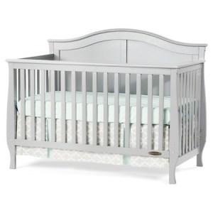 Child Craft Gray Crib Convertible Toddler Bed