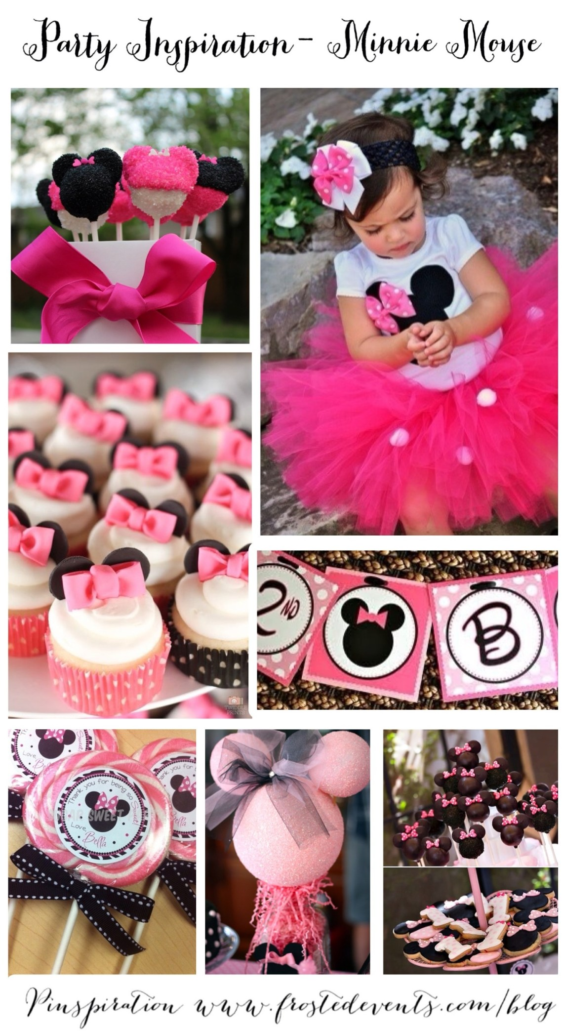 Minnie Mouse Party Ideas & Inspiration Birthday Party Planner Guide www.frostedevents.com