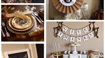 Thanksgiving Decorating Ideas & Inspiration www.frostedevents.com