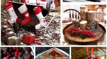 Rustic Holiday Inspiration www.frostedevents.com Christmas Ideas
