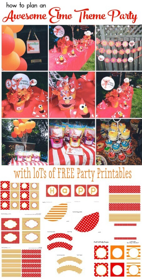 Plan an Awesome Elmo Birthday Party