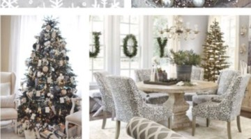 Christmas in Gray Inspiration- Holiday Ideas www.frostedevents.com