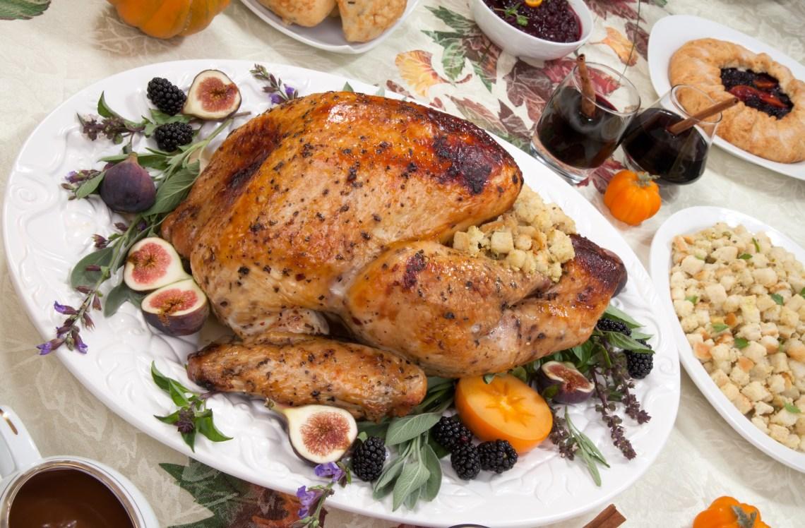 Thanksgiving Dinner Menu Ideas- Roasted Turkey Recipe