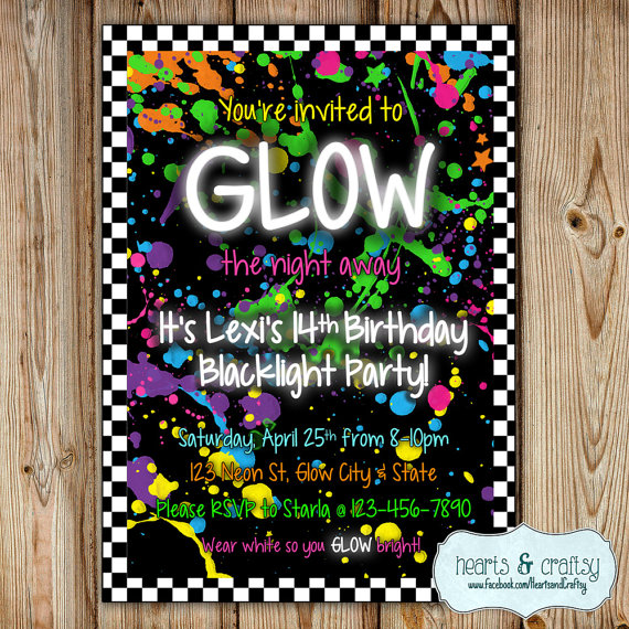party themes neon party glow party ideas via frostedeventscom frostedevents