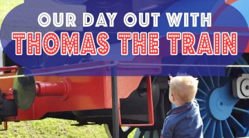 Day Out With Thomas the Train by mom blogger Frosted Events @frostedevents