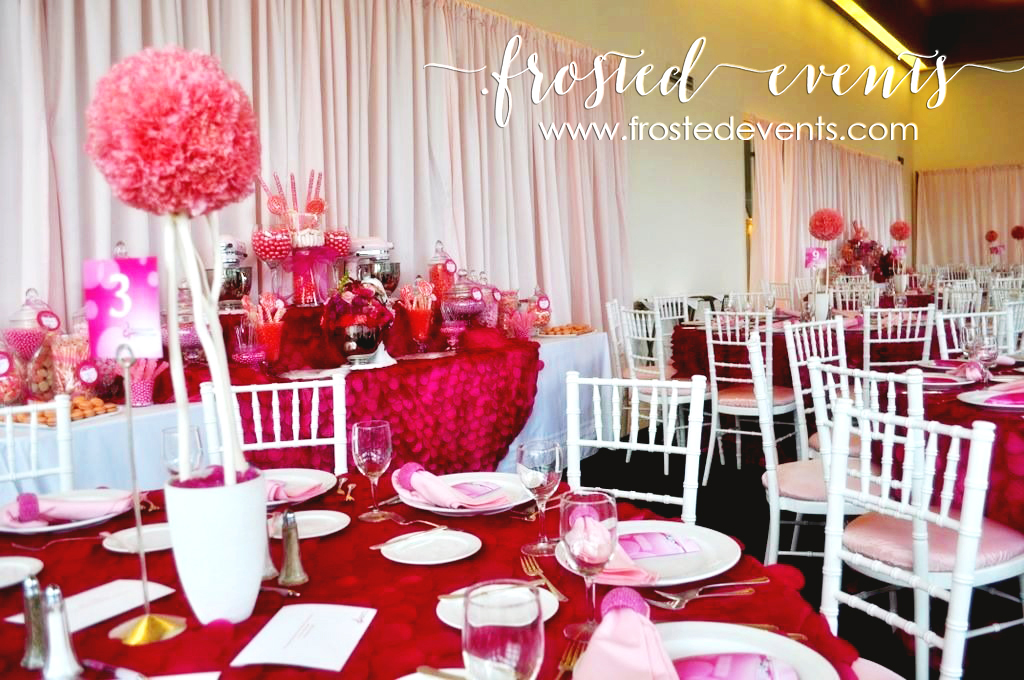 La Vie en Rose Breast Cancer Event -Pink Candy Dessert Table by Frosted Events frostedevents.com sponsored by KitchenAid