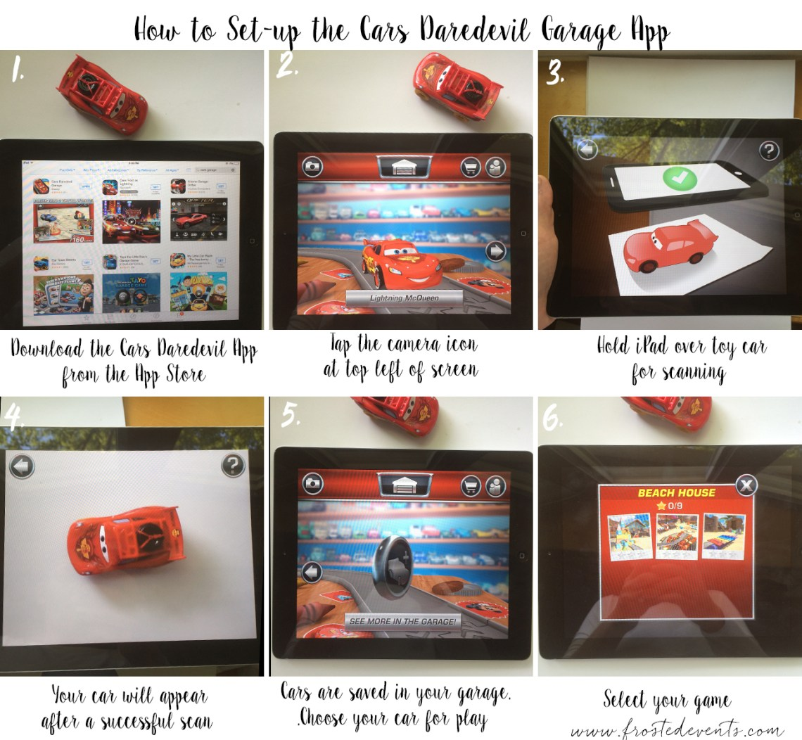 Keep Kids Entertained in the Car with Disney Daredevil Garage App -How To App Tutorial #DisneyPixarCarsToGo #collectivebias #shop