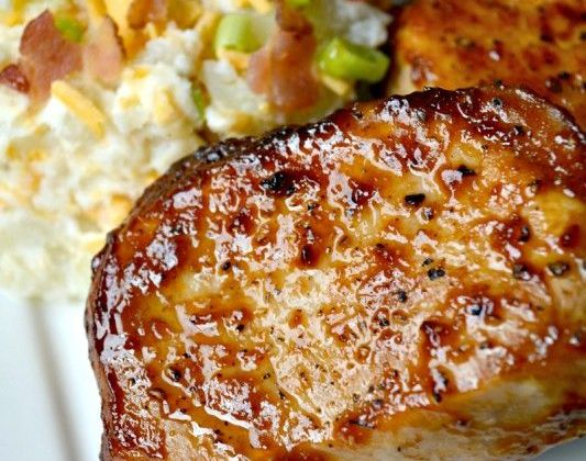 Pinterest Recipes- Weekly Meal Plan, BBQ Pork Chops + Loaded Mashed Potatoes frostedeventscom