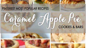 Caramel Apple Pie Cookies Recipes from Pinterest Most Popular frostedeventscom