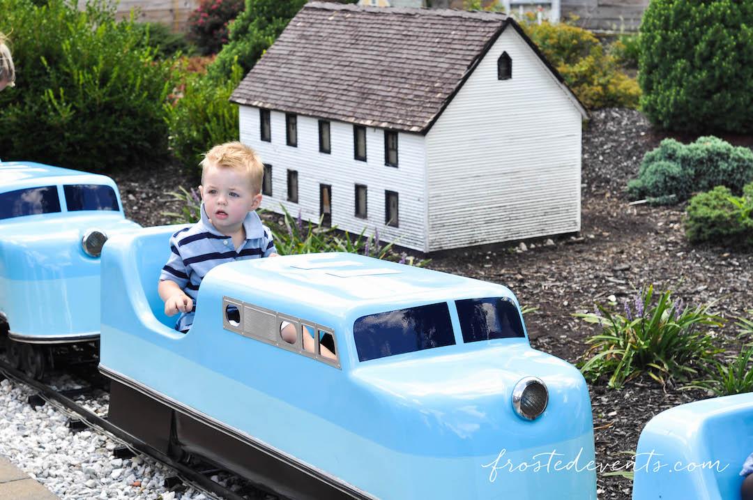 Chuggington Train at Baltimore Railroad Museum - Miniature Child Size Railway and Train Ride