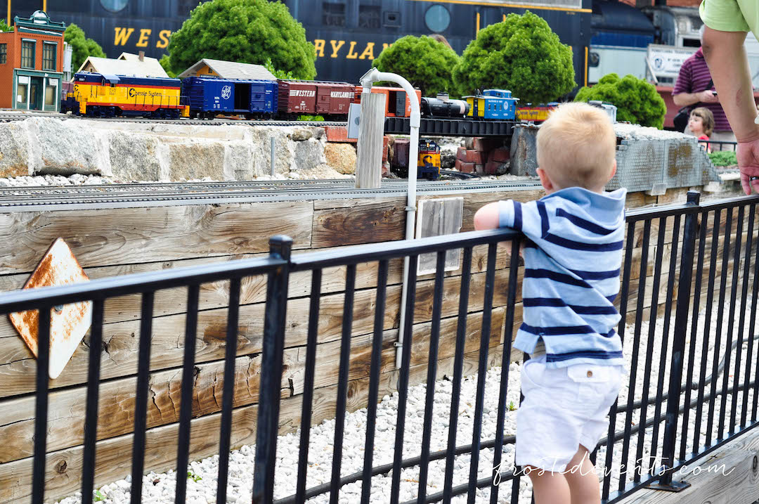 Chuggington Train at Baltimore and Ohio Railroad Museum Kids Train Event Family Travel DC MD