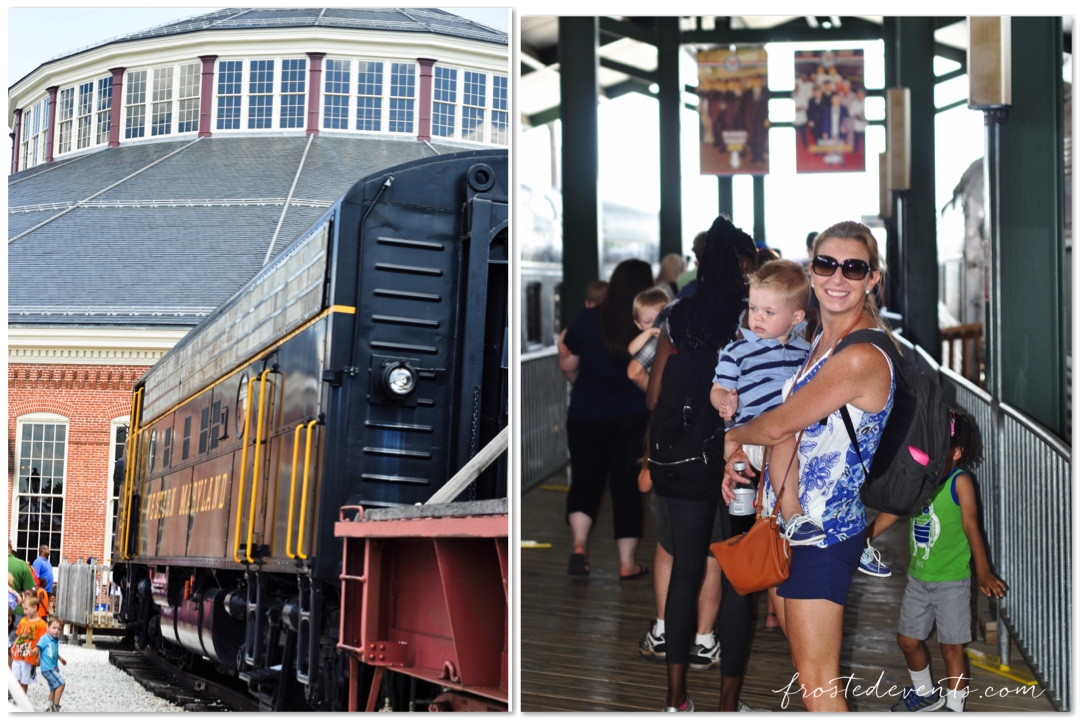 Railroad Museums -Baltimore and Oregon Railroad Museum- Family Travel With Kids DC MD