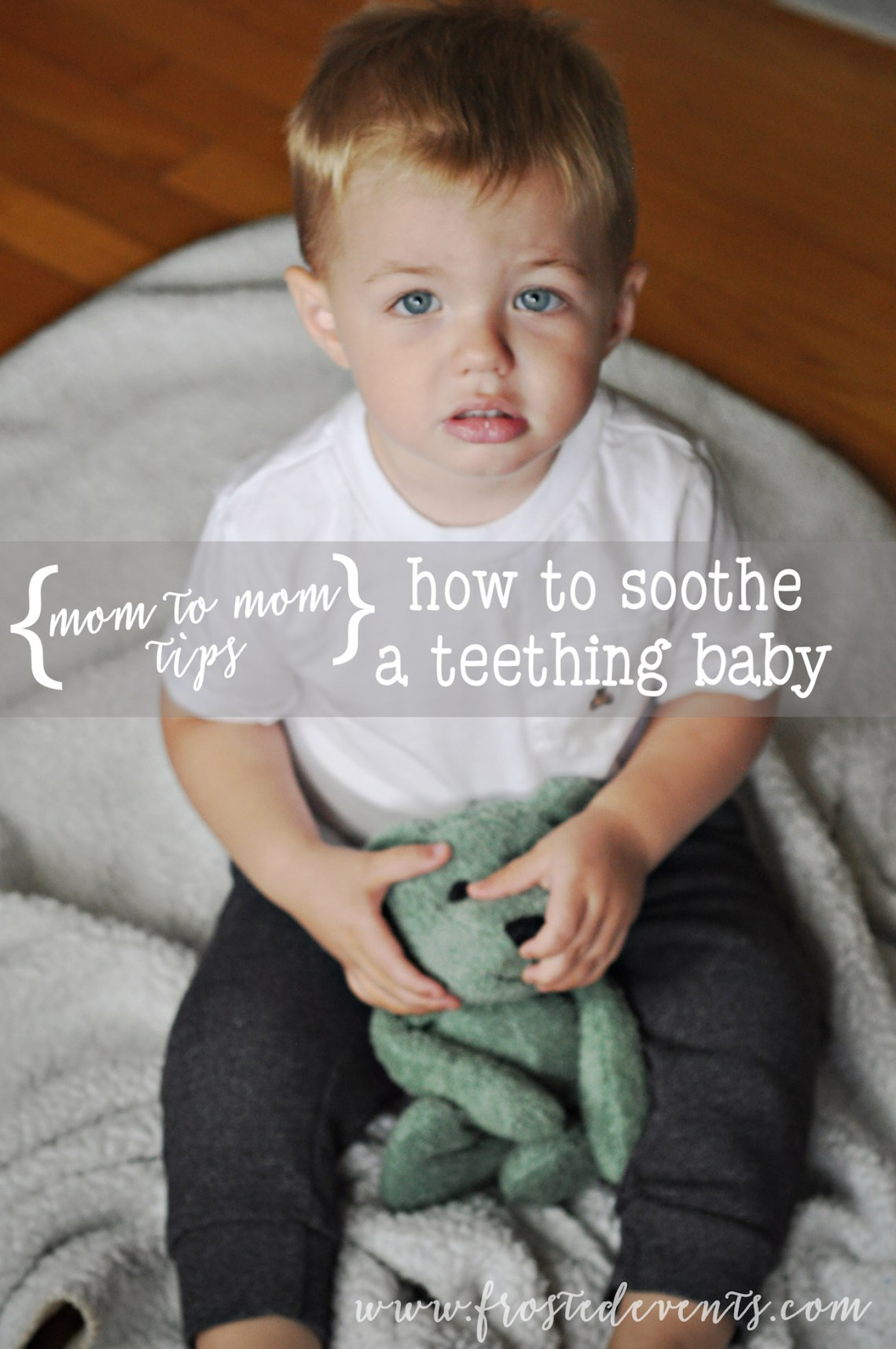 Tips to Sooth a Teething Baby #TeethingTruths #ad