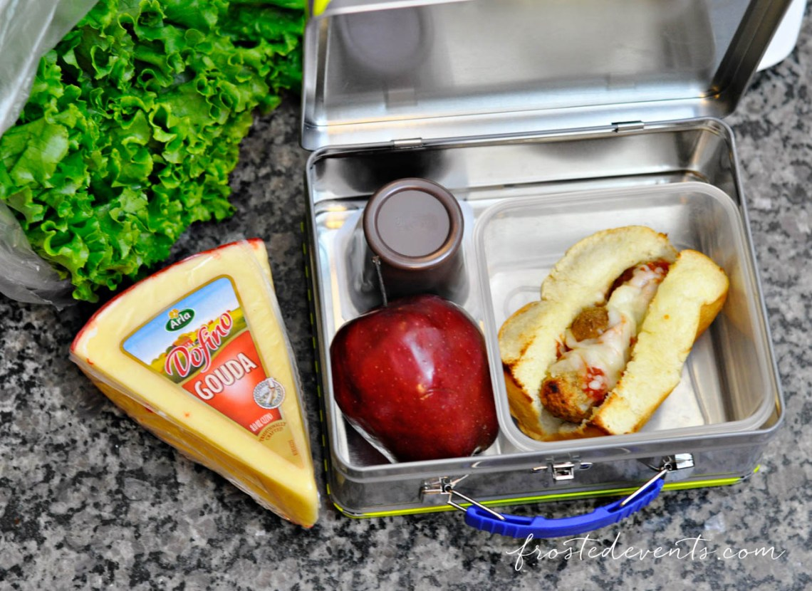 Quick and Easy Snacks + Lunch Ideas Recipe for Mini Meatball Subs
