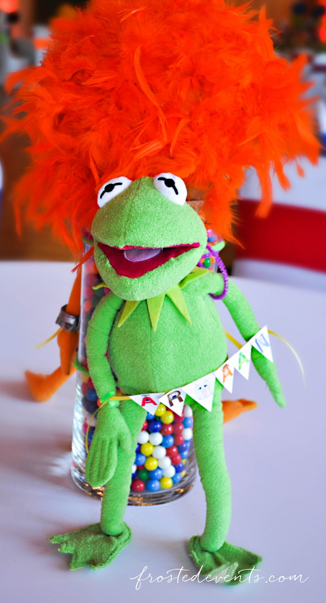 Muppets TV Show- The Muppets Show- Muppets Party Birthday- #muppets muppet party decor