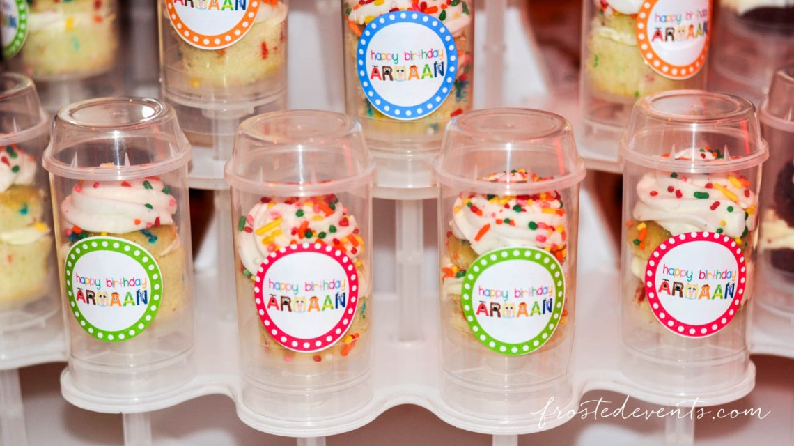 Muppets TV Show- The Muppets Show- Muppets Party Birthday - muppet push pop cupcakes, muppet cake #muppets