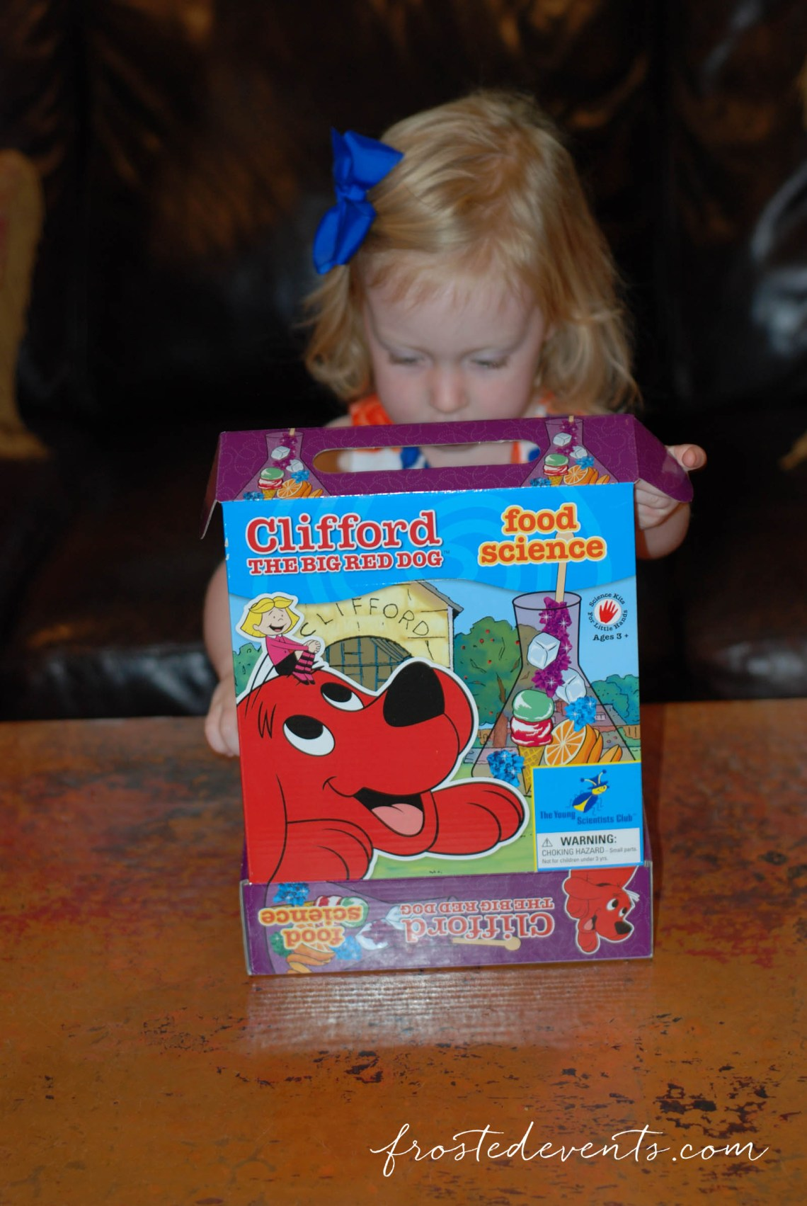 Clifford Magic Science Kits Review Great STEM toys for kids STEAM toys