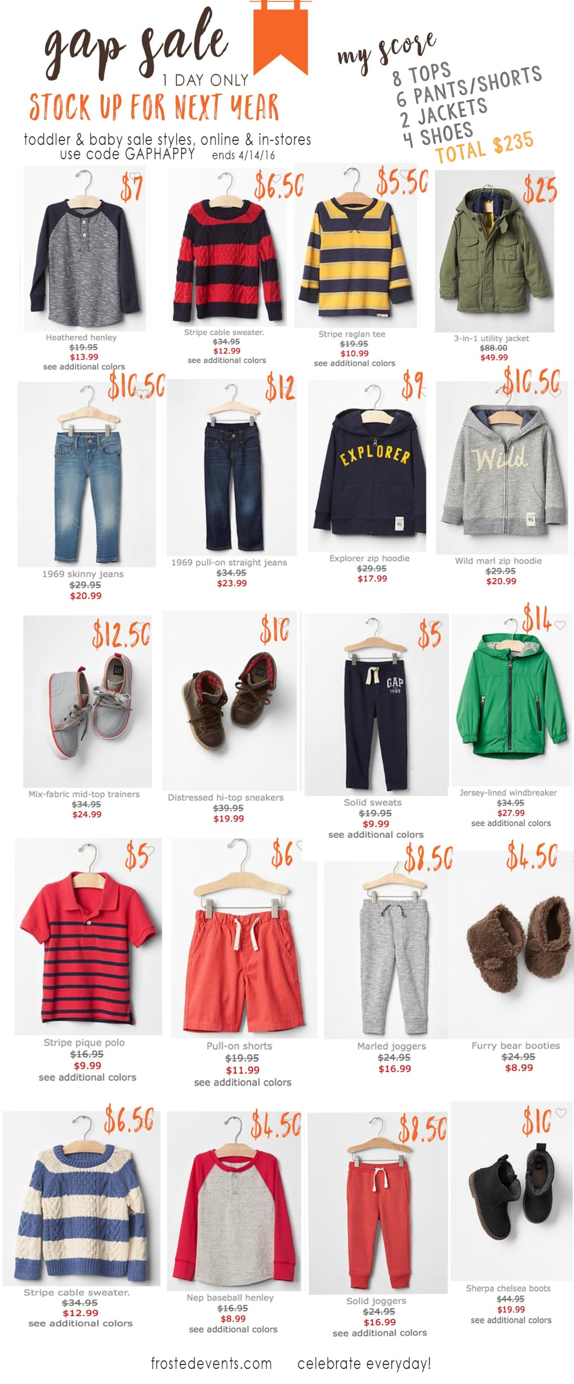 babyGap and Gap Kids Big Sale How to Buy Kids Clothes for Less  Cute Kids Clothes Cheap Brand Name Gear