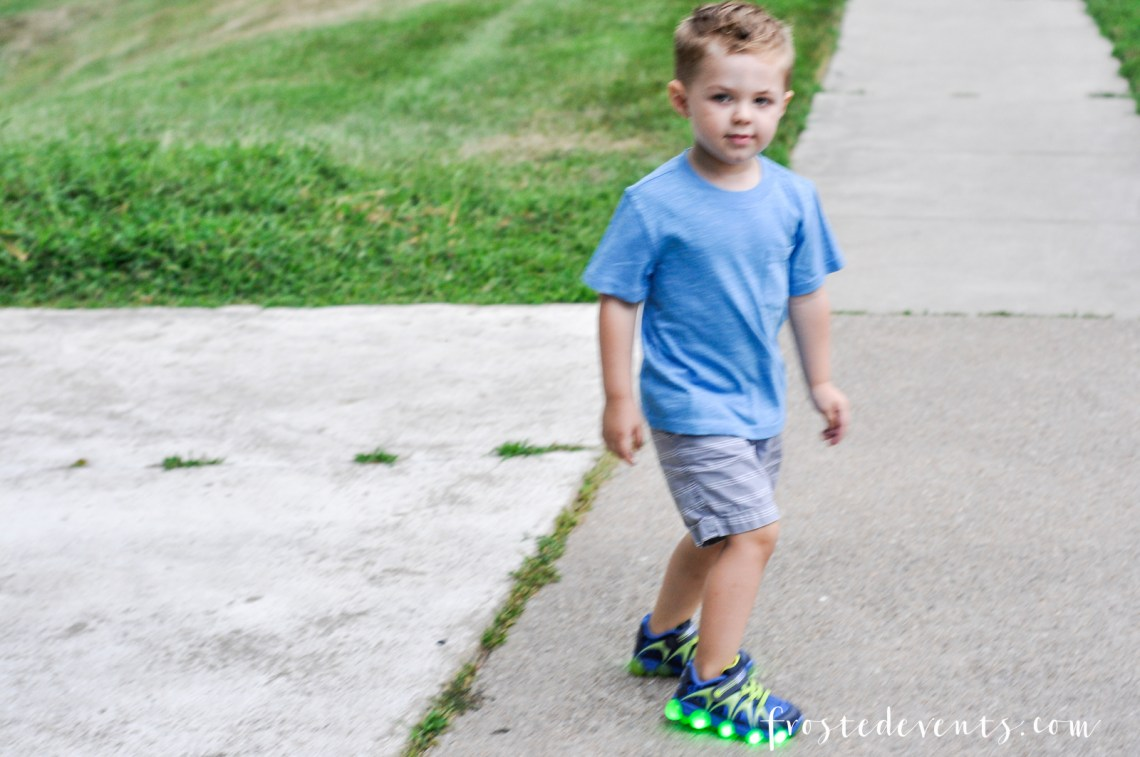 Back to School Shopping for Cool Shoes Stride Rite Leepz and Zappos @frostedevents