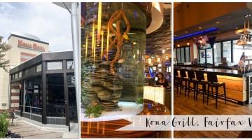 Restaurants Fairfax VA Kona Grill Family Friendly