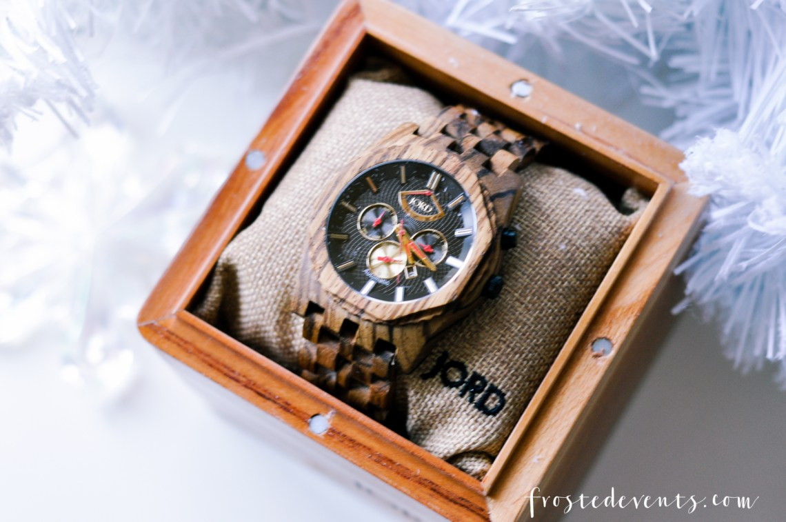 Gifts for Him- A Men's Watch Thats Sophisticated and Unique Gifts for Men via Misty Nelson frostedmoms