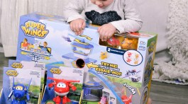 Gifts for Boys Christmas Toys SuperWings Airport Transforming Jetts via Misty Nelson, mom blogger @frostedevents Kids Toy Reviews