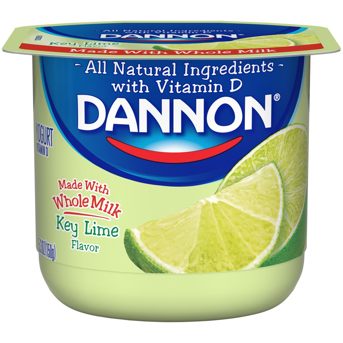 Dannon Whole Milk - Key Lime-1