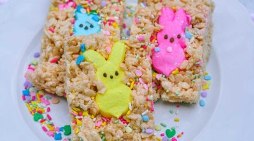 Easter Treats - How to Make Rice Krispie Peeps, cute Easter idea via Misty Nelson frostedblog.com @frostedevents