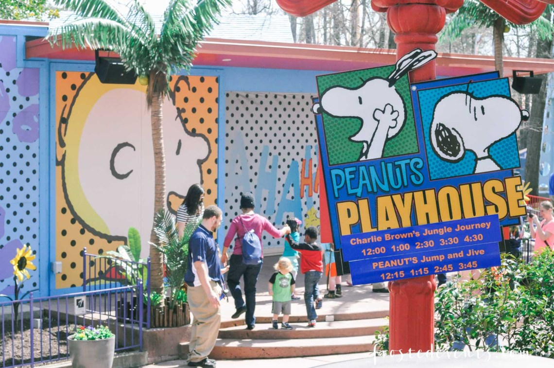 Kings Dominion Planet Snoopy Full of Fun Things to Do With Preschool Kids -- Northern Virginia Theme Park VA