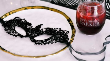 Fifty Shades Darker Movie Girl's Night Movie Sangria Recipe Fifty Shades of Grey via Misty Nelson frostedblog @frostedevents