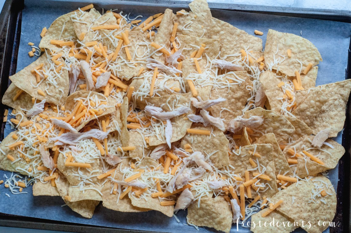 Delicious Recipes, Cheese Recipe - BBQ Chicken Nachos made with real, fresh cheese via Misty Nelson @frostedevents