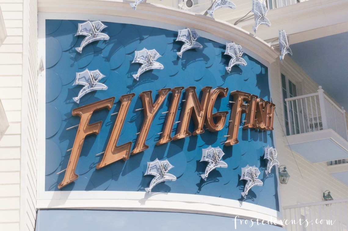 Disney Boardwalk Inn - Disney World Resorts - Disney Vacation planning via Misty Nelson family travel blogger @frostedevents Flying Fish Restaurant