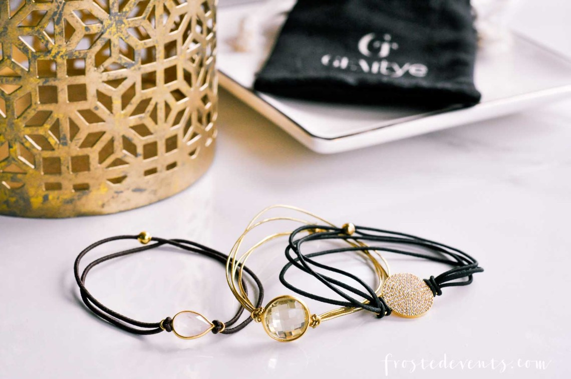 Hair Tie Bracelets -- Gemtyes- Stylish Bracelets That Double as Hair Elastics