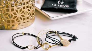Gemtyes- Stylish Bracelets That Double as Hair Elastics