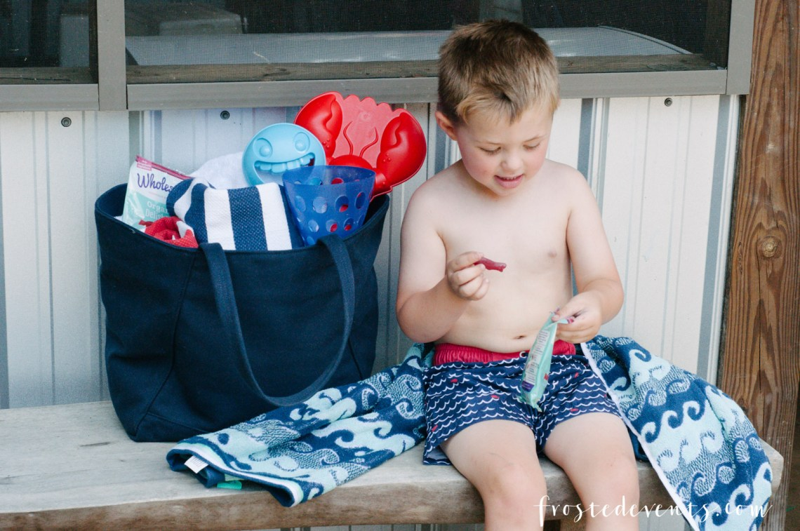 Fun Kid's Snacks to Pack for a Beach Vacation -- Organic Candy DelishFish Wholesome Kid's Treats