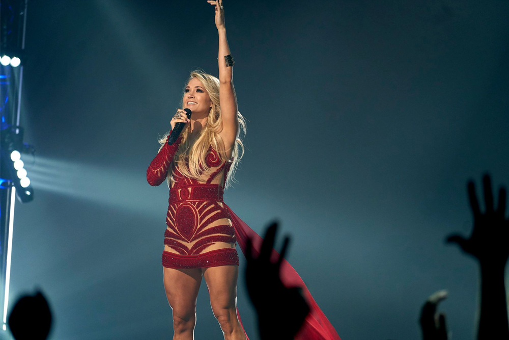 NFL Television Schedule + Carrie Underwood Returning to Sunday Night Football