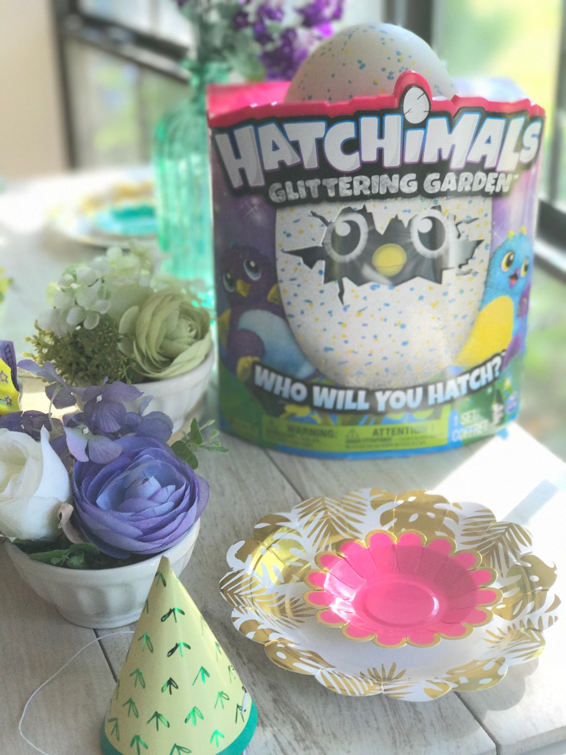 Hatchimals Glittering Garden Party - How to Throw One + Our Toy Review of this 2017 Popular Kids Toy