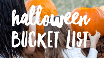 Halloween Bucketlist - Fun Things to Do in the Fall - Halloween activities, Halloween games, Halloween ideas via Misty Nelson frostedblog.com
